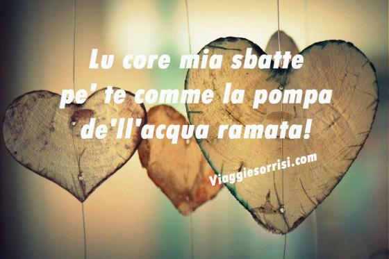 cuore dediche amore dialetto
