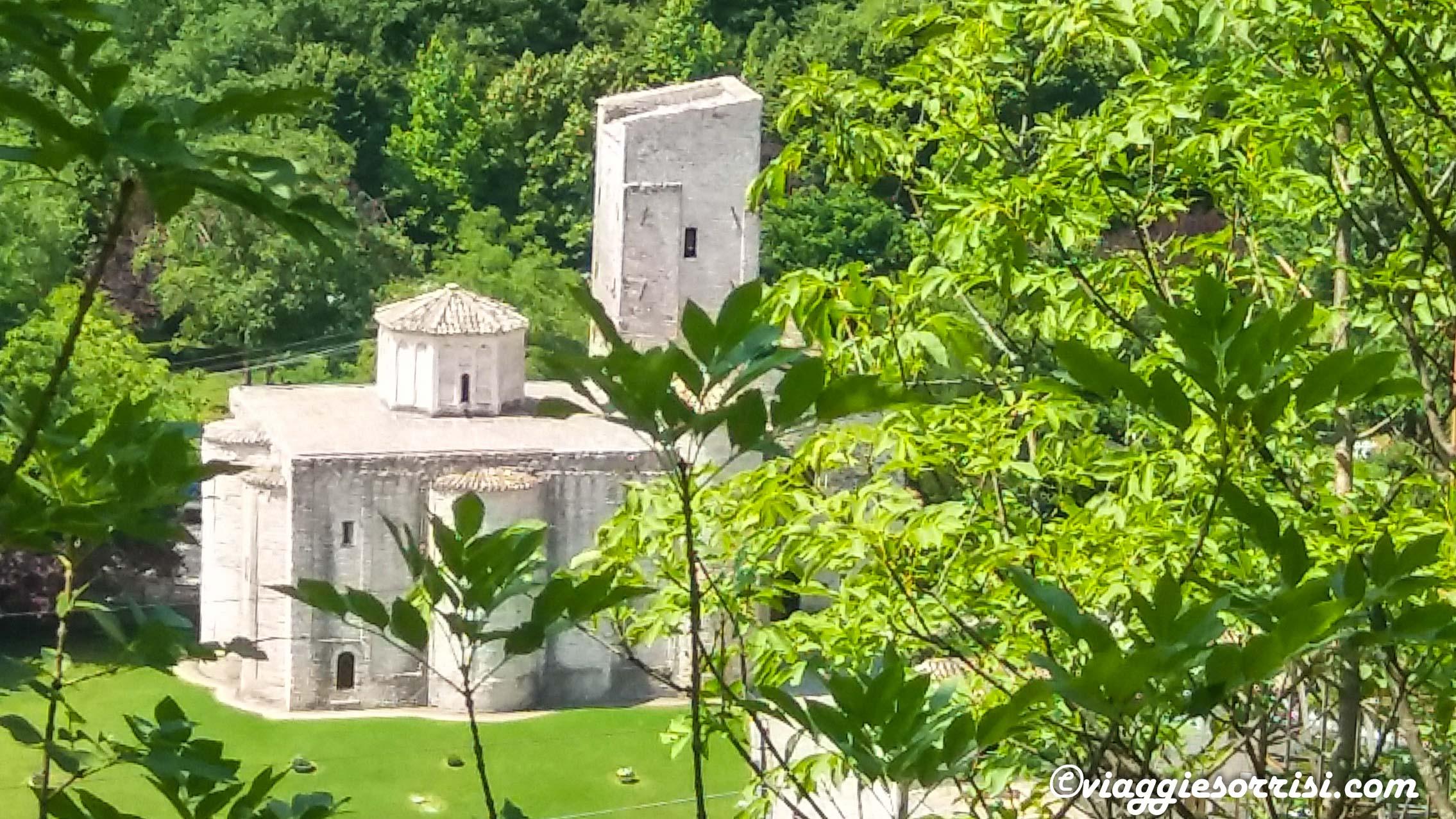 Abbazia di San Vittore panoramica