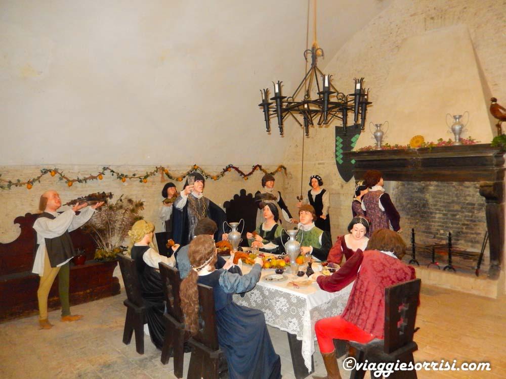 Sala da pranzo - Rocca di Mondavio