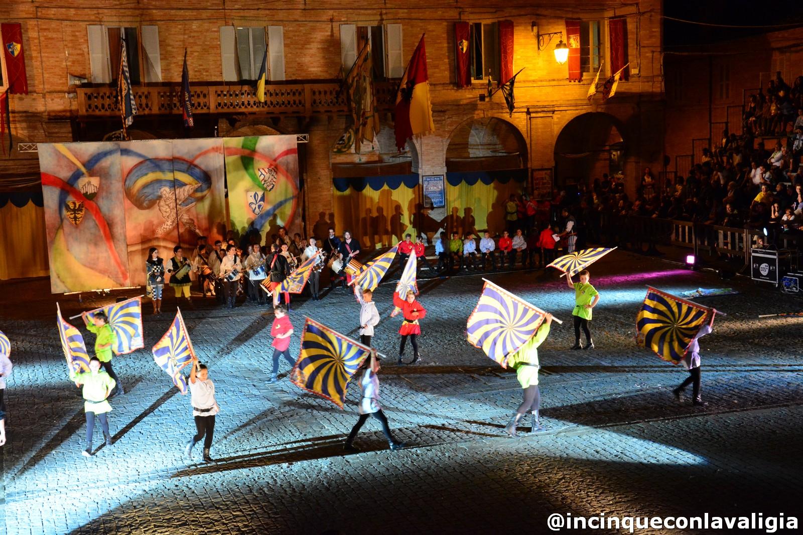 Il Torneo cavalleresco di Servigliano (Foto incinqueconlavaligia)