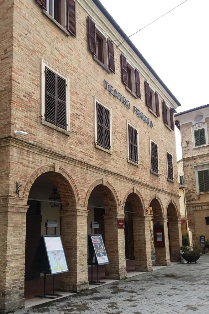 Il Teatro Ferronia di San Severino
