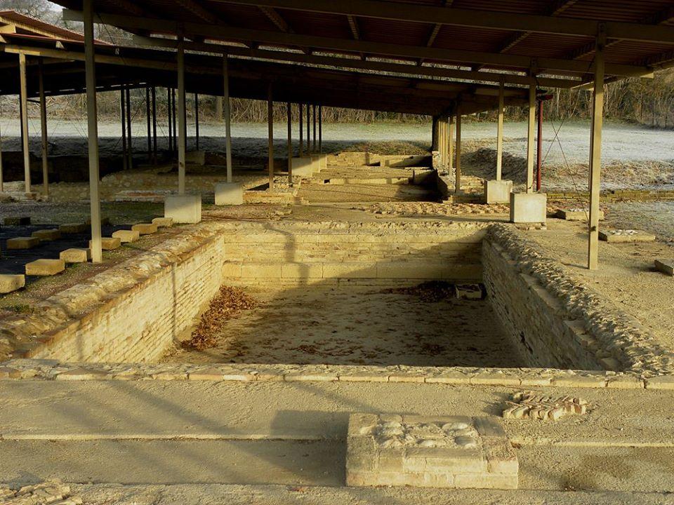 I resti della città antica