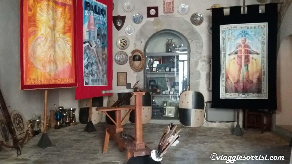 La sede dei Balestrieri di Sansepolcro