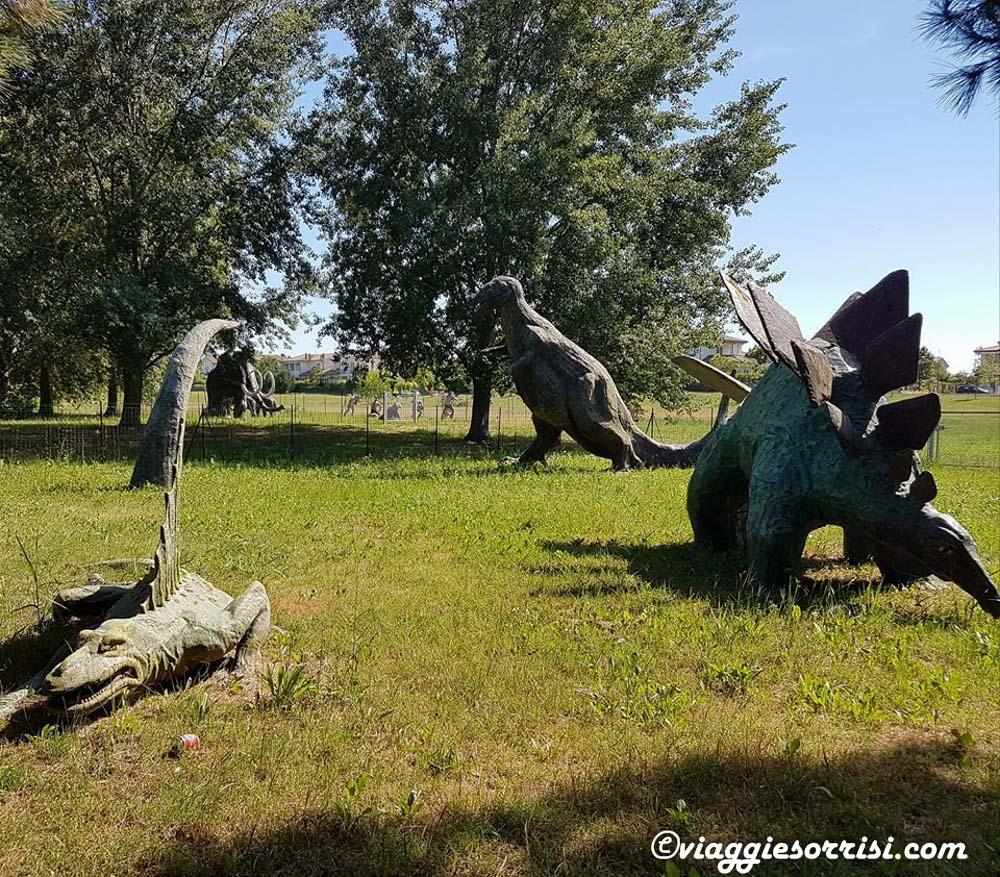 Jurassik Park al Parco del Gelso