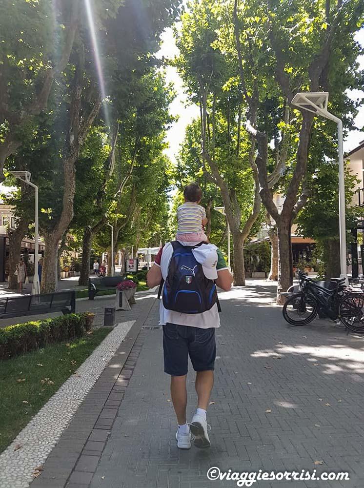 passeggiando all'isola dei platani