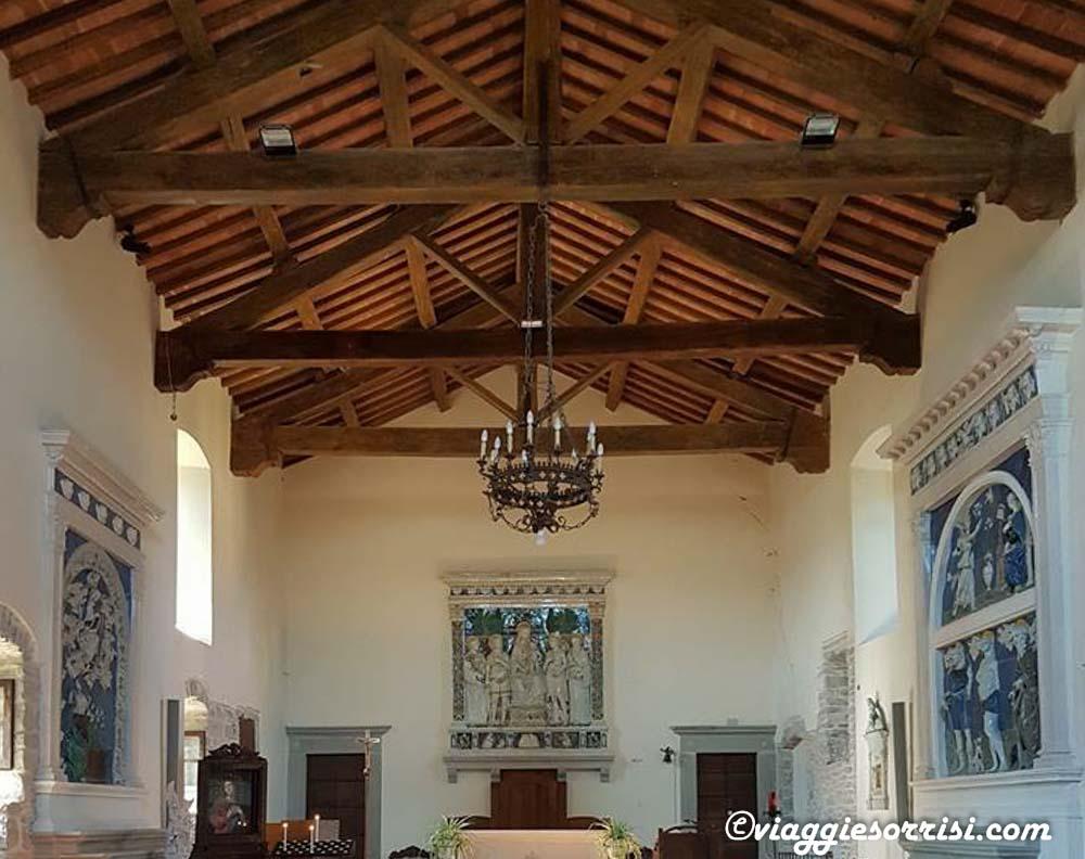 abbazia san michele arcangelo badia tedalda interno
