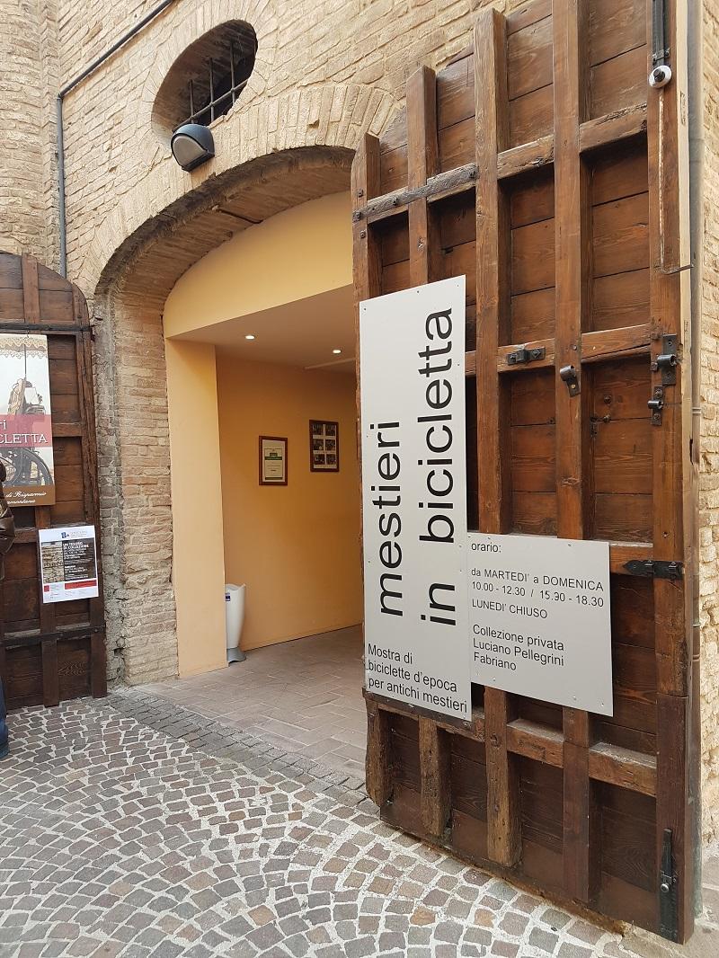 Museo mestieri in bicicletta di Fabriano