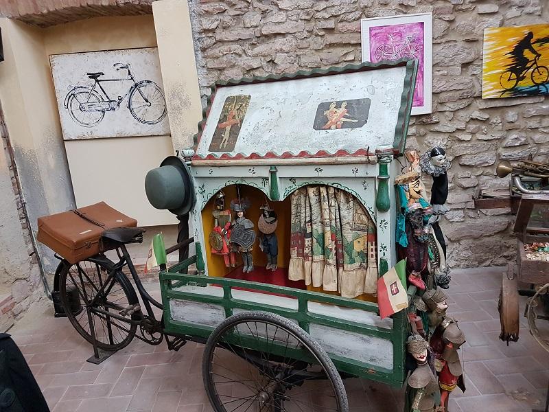 Museo dei Mestieri in bicicletta fabriano