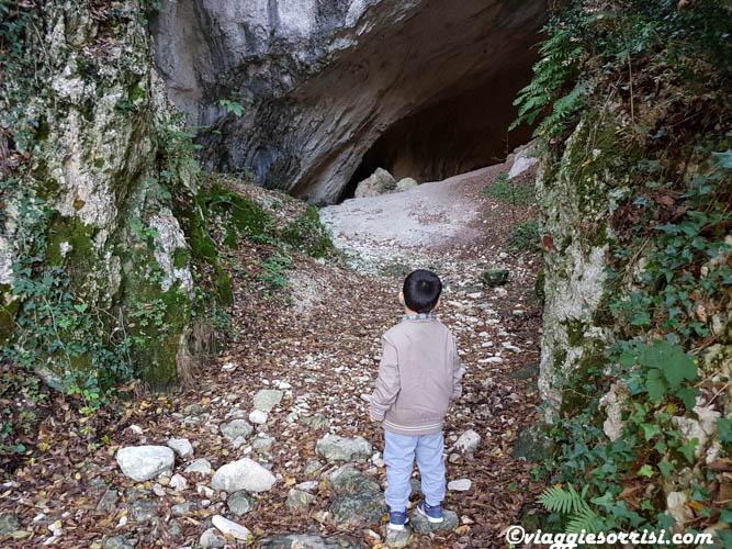 valle scappuccia ingresso