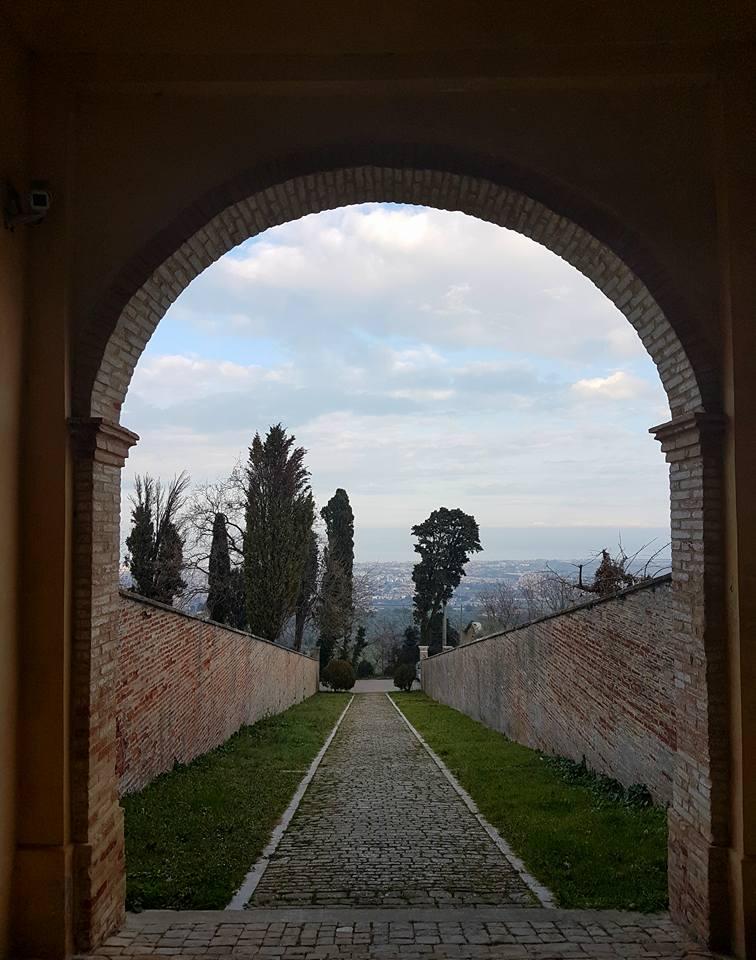 panorama dall'eremo di monte giove