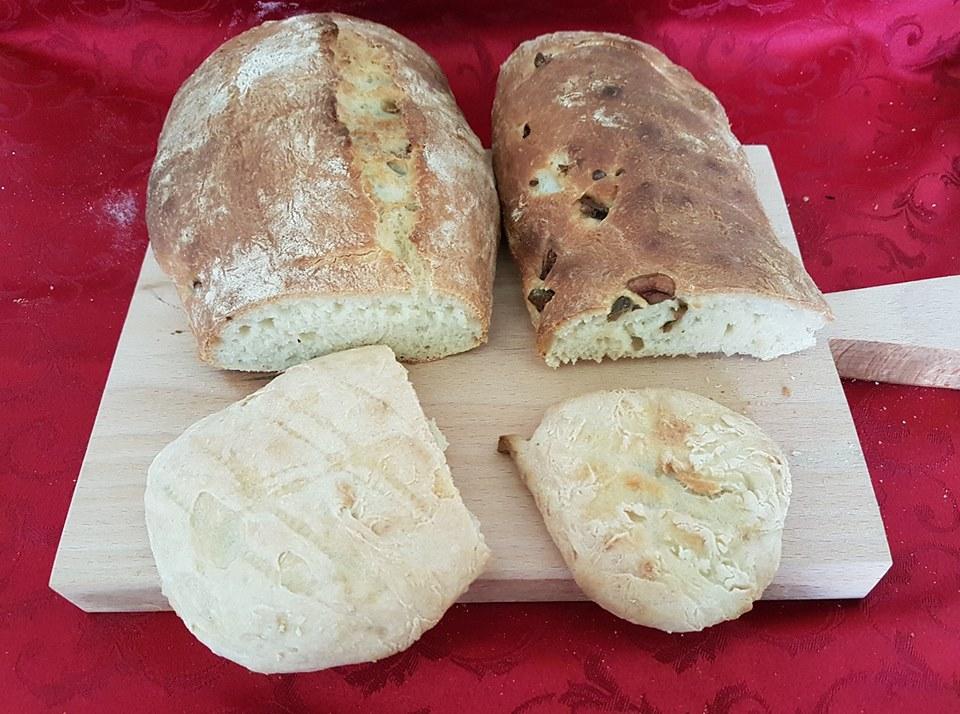 Pane fatto in casa vari tipi