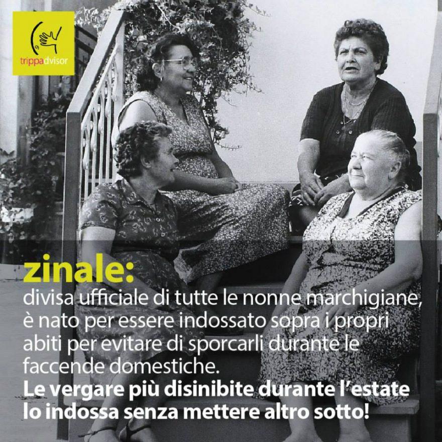 zinale dialetto marchigiano