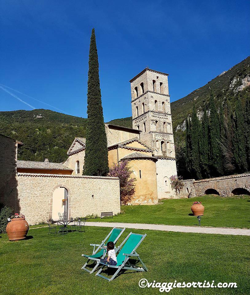Abbazia San Pietro in Valle giardino