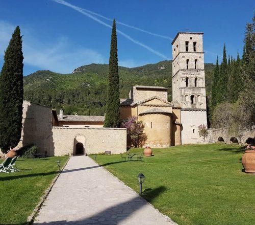 abbazia di san pietro in valle ferentillo terni