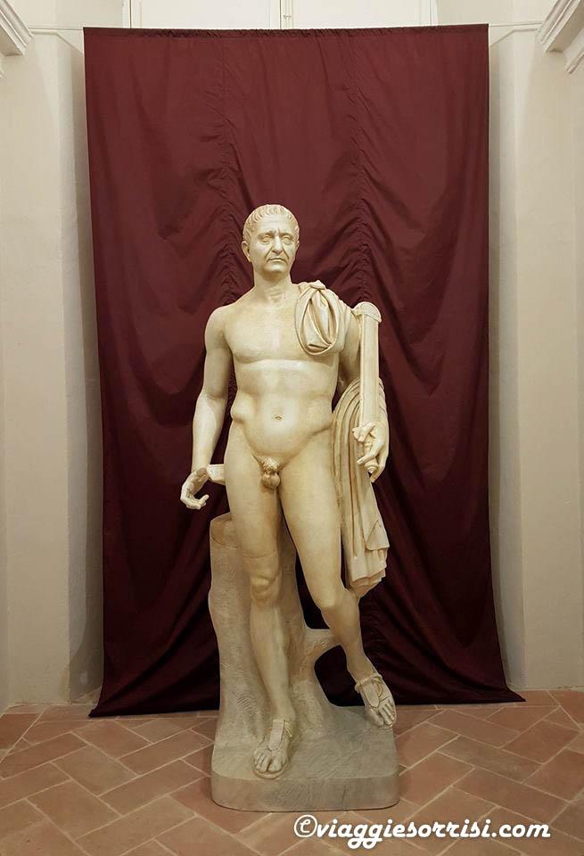 statua del traiano ostra vetere