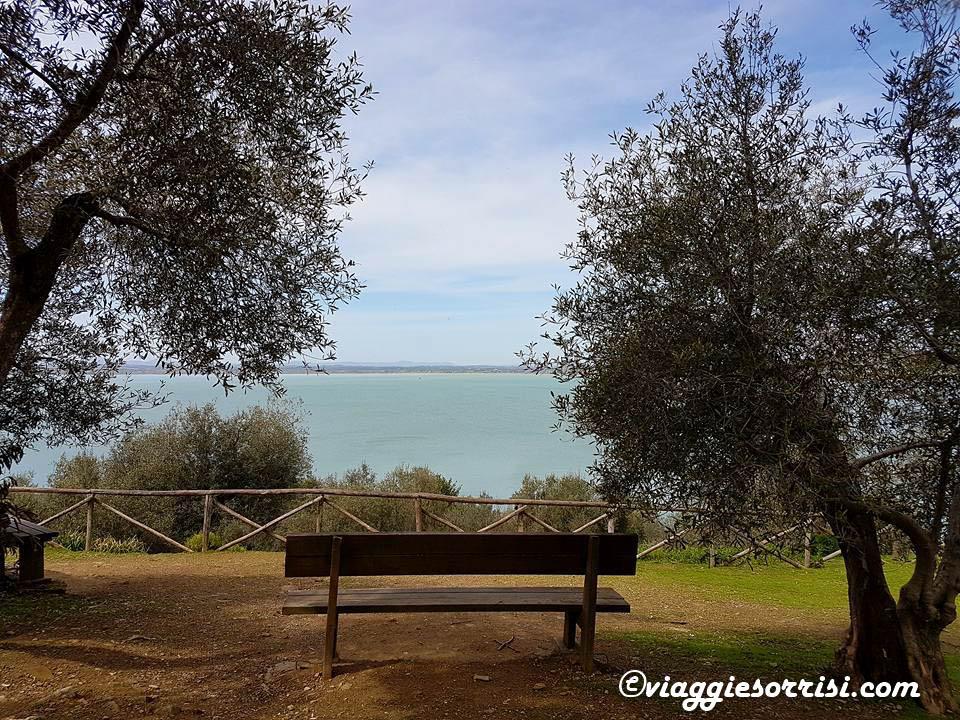 Isola Maggiore trasimeno panorama