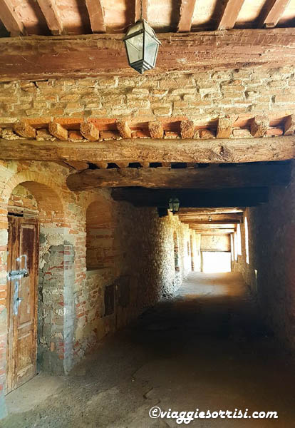 citerna camminamenti medievali