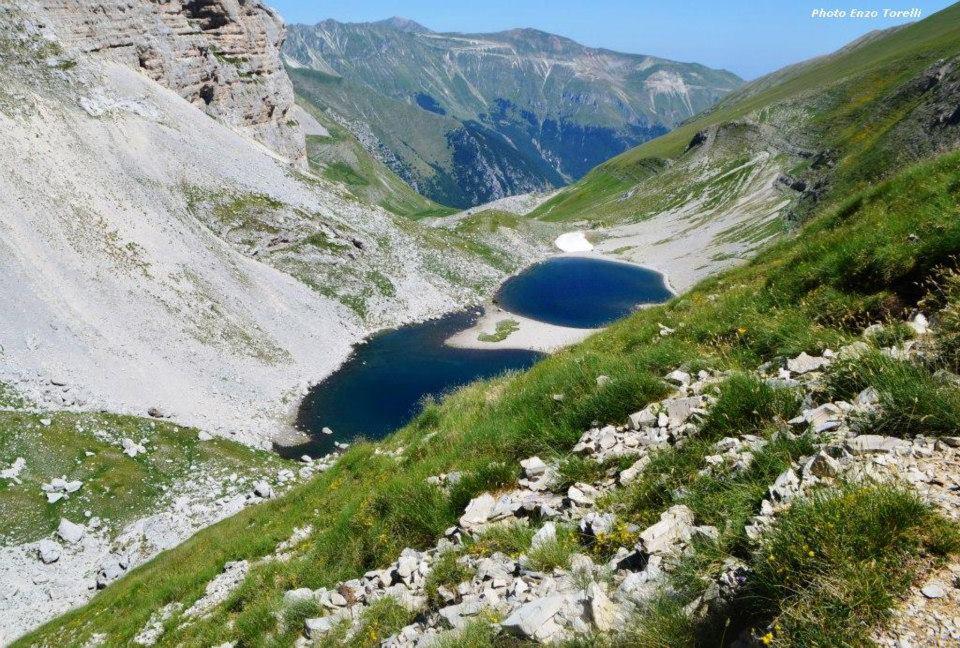 Il Lago di Pilato dalle Roccette