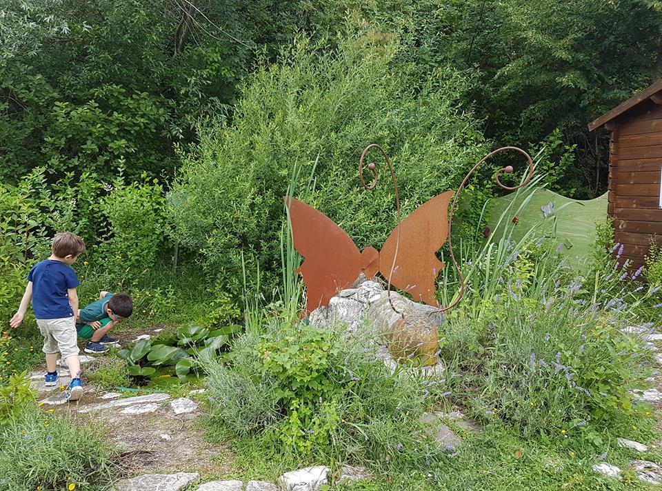 giardino delle farfalle laghetto