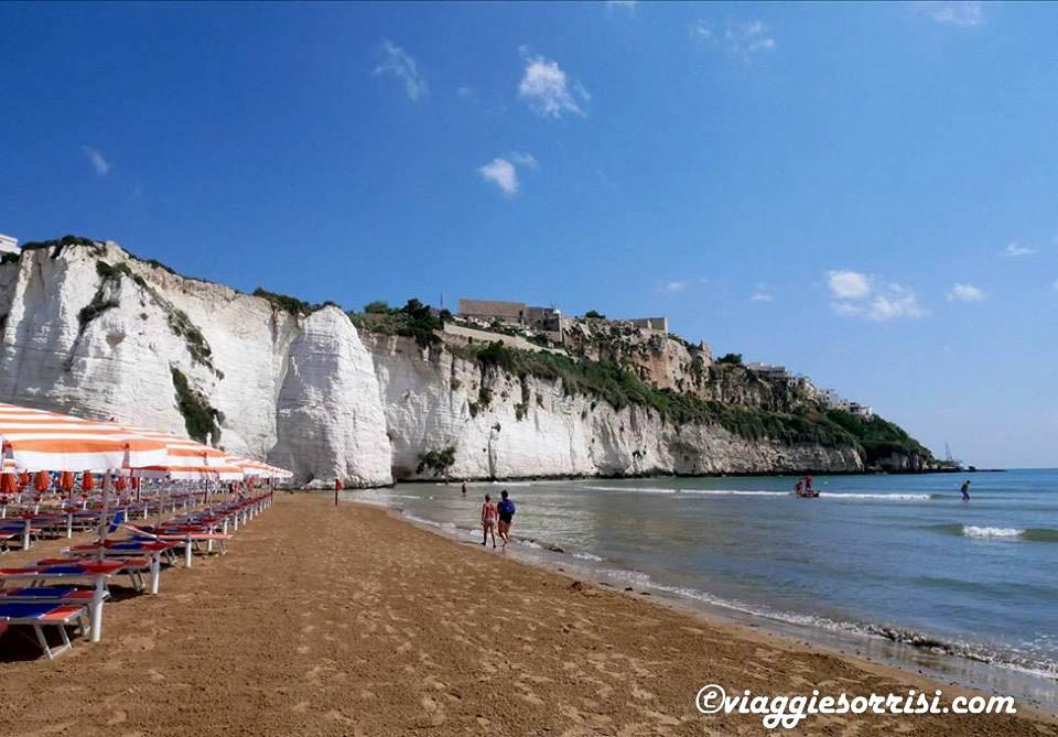 spiaggia pizzomunno e vieste