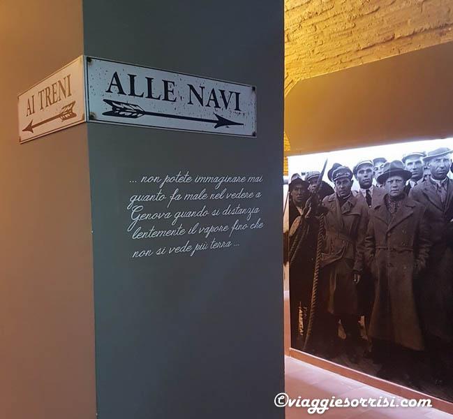 interno museo museo dell'emigrazione marchigiana recanati