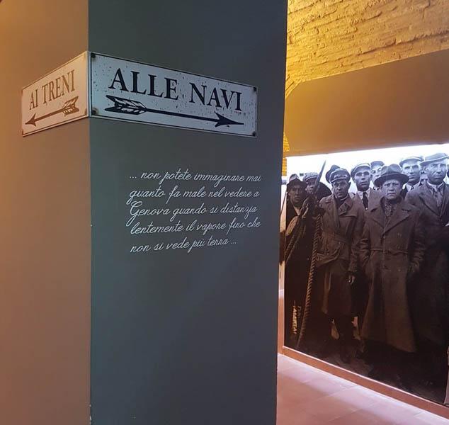 L'emozionante Museo dell'Emigrazione Marchigiana a Recanati
