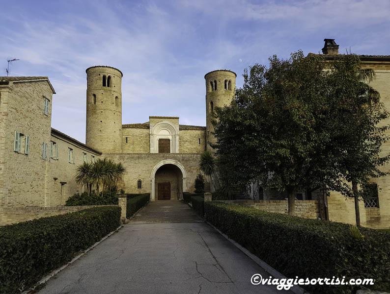 abbazia di san claudio corridonia mc