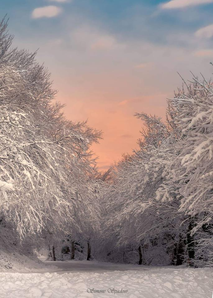 paesaggi inverno marche