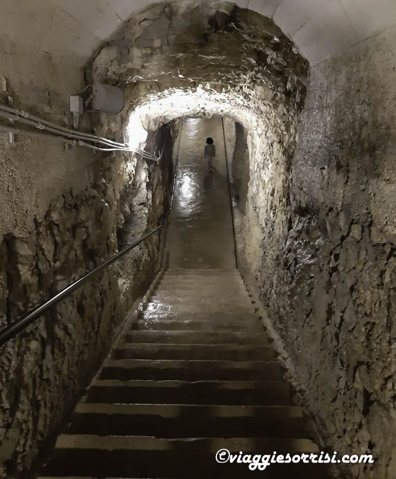 forte belvedere tunnel