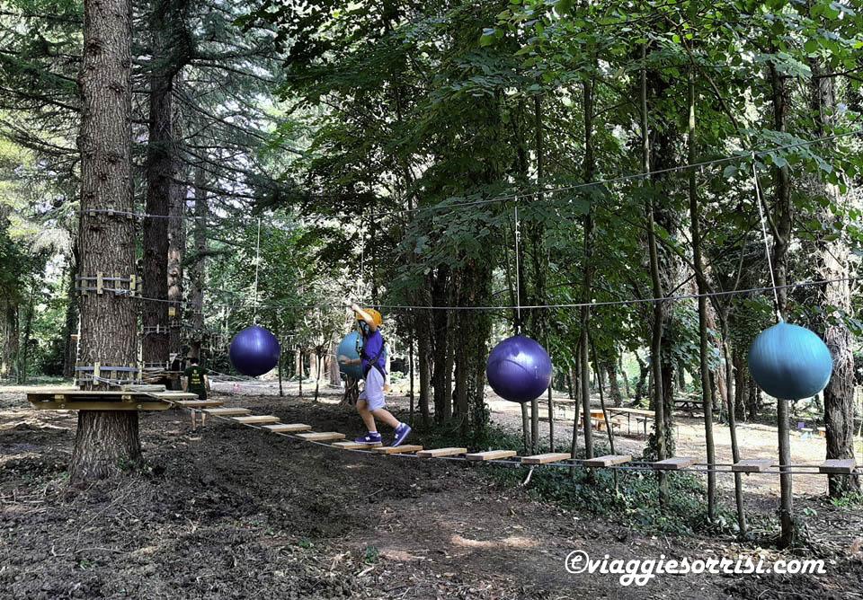 percorso treekpark