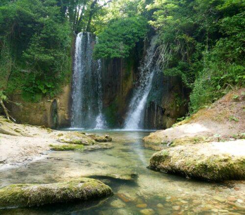 cascata del mulino sarnano