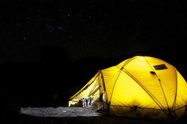 campeggio libero marche