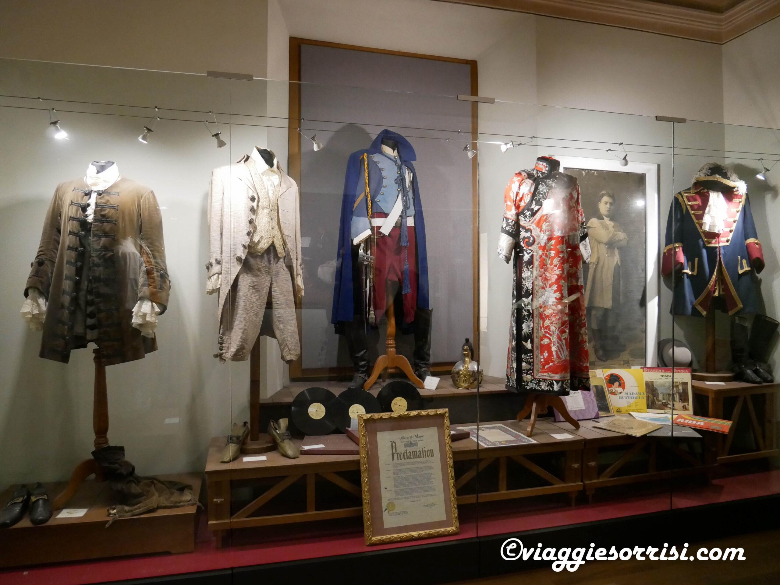 museo beniamino gigli abiti di scena