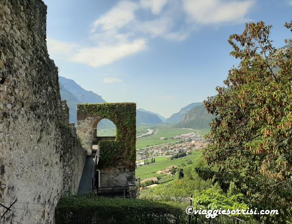 panorama al castello di avio