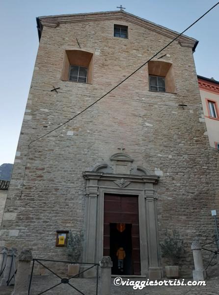 chiesa di santa lucia serra s quirico