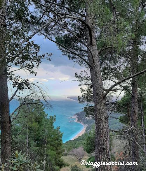 panorama sentiero del monte conero