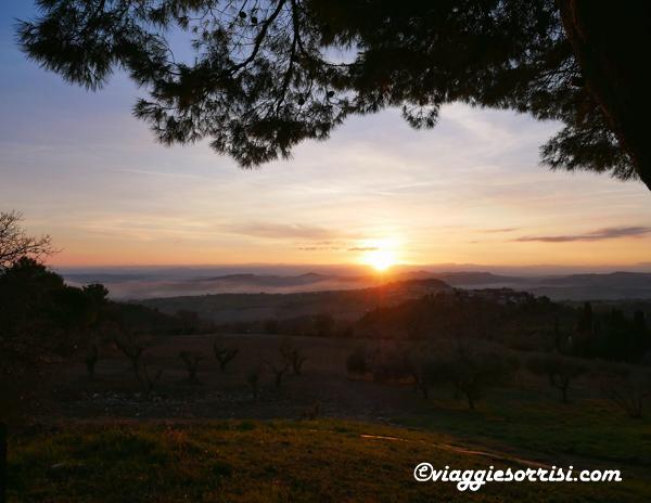 tramonto sentiero conero