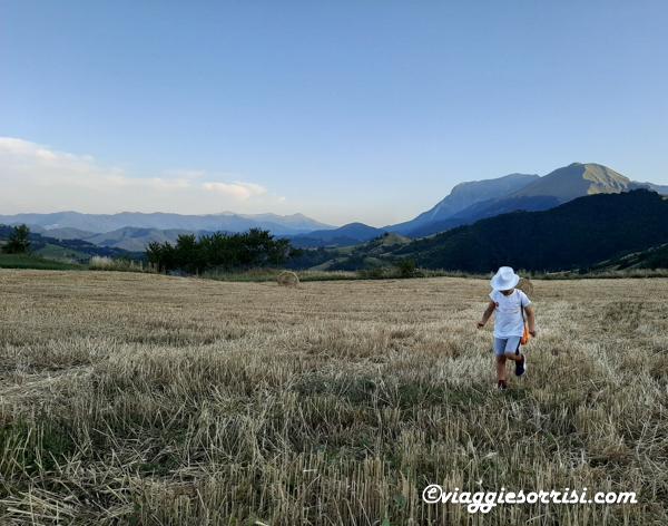 escursioni con bambini monti sibillini