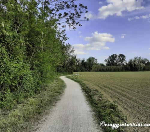 percorso ciclabile chiaravalle falconara