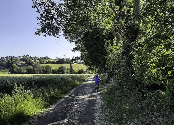 percorso ciclabile girardengo campocavallo osimo