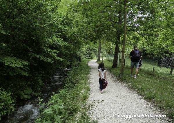 percorso delle acque pieve torina